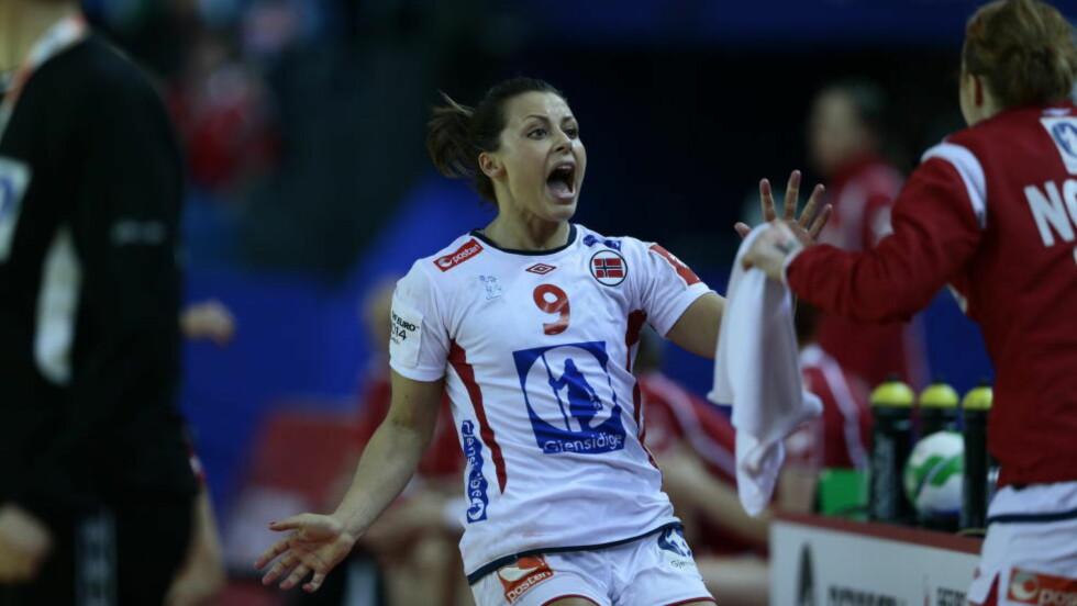 11 MÅL: Nora Mørk scoret 11 av Norges 26 mål mot Polen.