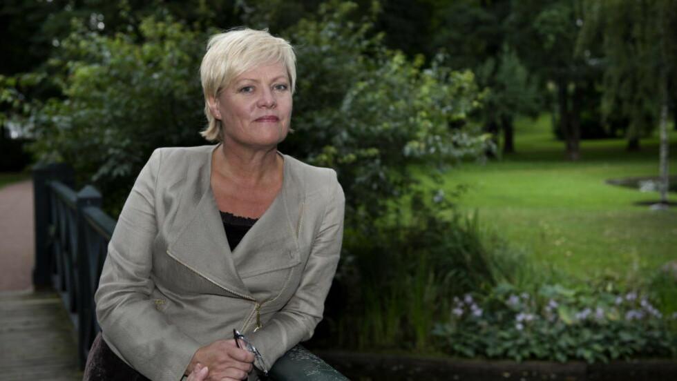 SIER NEI:  Leder i Bioteknoligirådet, Kristin Halvorsen, mener barn født av enslige mødre etter assistert befruktning vil være i en mer utsatt posisjon. Foto: Øistein Norum Monsen / DAGBLADET