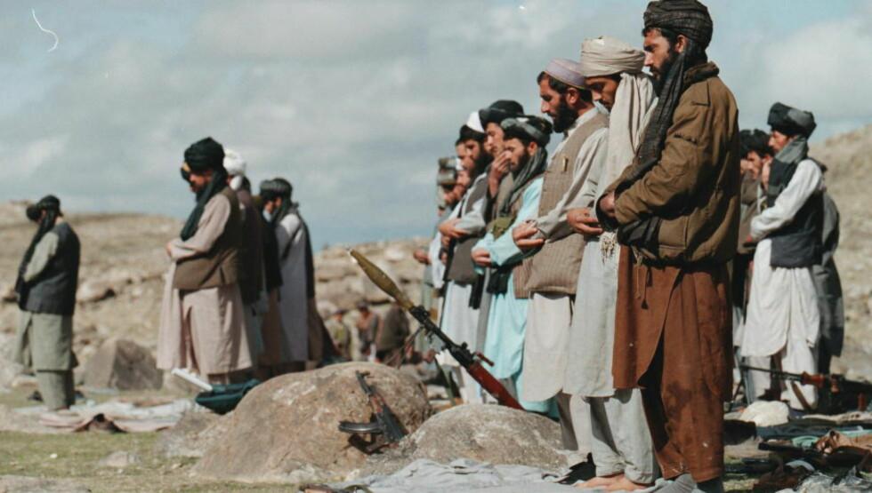 I BØNN: Krigere fra Taliban, her avbildet under en reportasjetur Dagbladet gjorde i Afghanistan i 2008.