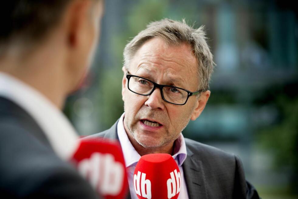 TAR SAKEN TIL TOPPS: Dagbladets redaktør John Arne Markussen mener dommen i ambulansesaken ikke kan bli stående. Foto: Bjørn Langsem