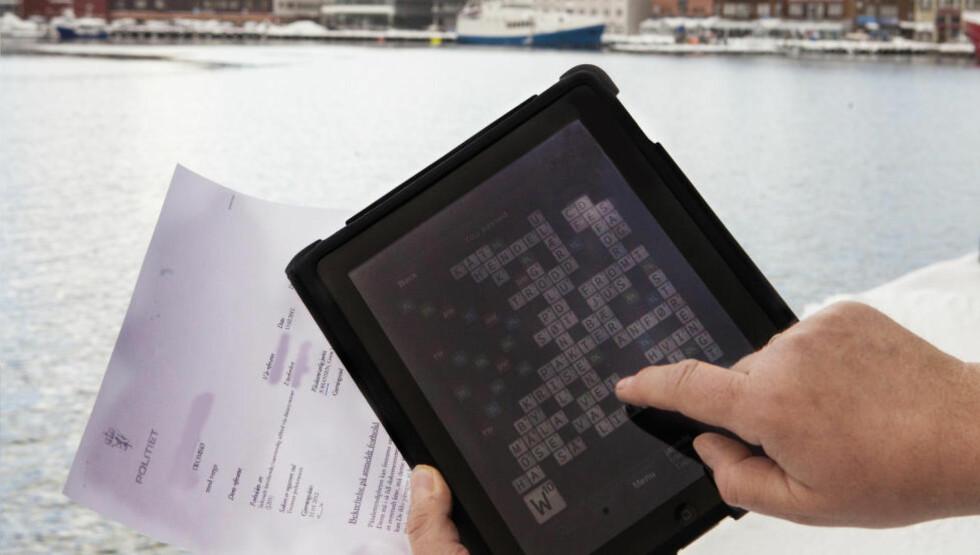 GENERERER MILLIONER: Wordfeud, som er inspirert av Scrabble, har blitt en millionsuksess.