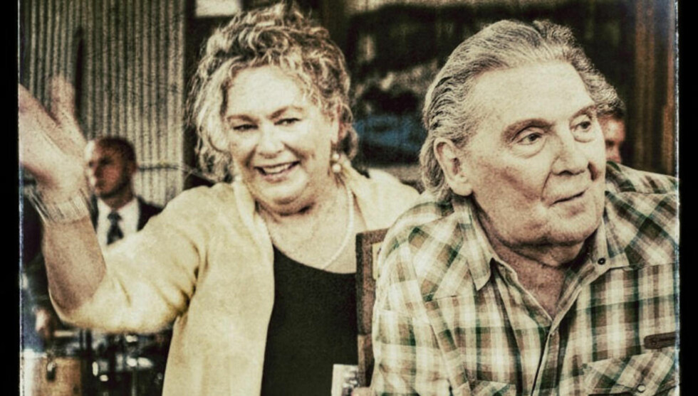 THE KILLER: The Cotton Gin, Hernando, Jerry Lee Lewis ( 79) sammen med kone nr.7, Judith Lewis, bærer Hill Country Award for the Killer etter at Hill Country Music. Foto: Robert Lee Long, DeSoto Times Tribune