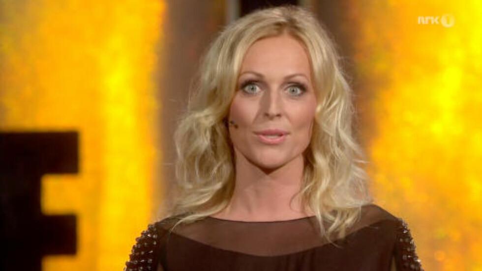 PROGRAMLEDER: Marte Stokstad er programleder for «The Hit». Foto: NRK