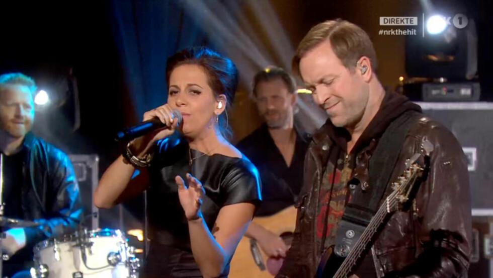 GIKK VIDERE: D'Sound gikk videre fra første episode av «The Hit». Foto: NRK