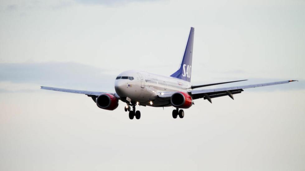 PRESSET BRANSJE: Arbeidsforholdene i luften kan gå ut over flysikkerhiten, advarer norske piloter.  Foto: Erlend Aas / NTB Scanpix