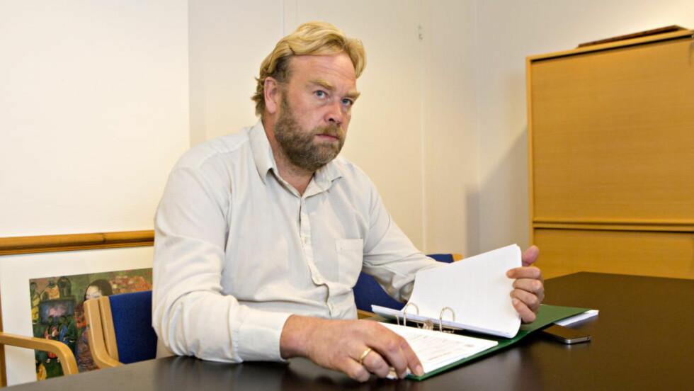 - GJORT NOE DUMT: Mannens forsvarer, Jon Anders Hasle, sier han ikke har diskutert med sin klient hvordan han stiller seg til tiltalen, men at mannen langt på vei ser at han har gjort noe dumt. FOTO: TORBJØRN BERG / DAGBLADET