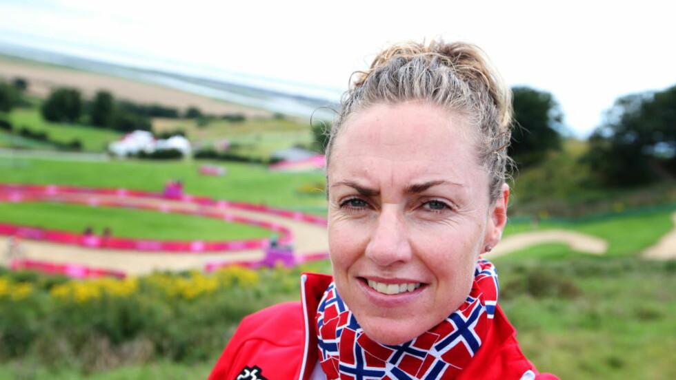 NI: Gunn-Rita Dahle Flesjå mislyktes i terrengsykkel-VM i rundbane på hjemmebane lørdag. Veteranen ble bare nummer ni. Foto: Håkon Mosvold Larsen / NTB scanpix