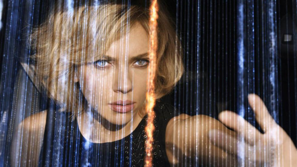 KOMMER PÅ KINO I OSLO: Luc Bessons storfilm «Lucy» med Scarlett Johansen får vanlig kinopremiere i Oslo likevel. Foto: UIP