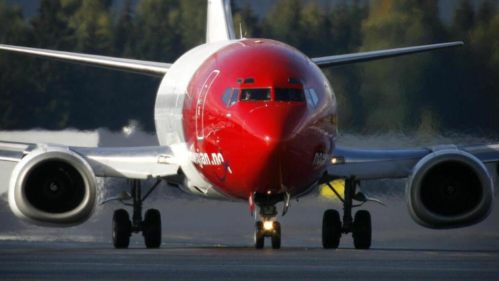 FÅR SIKKERHETSKRITIKK: .Luftfartsilsynet har flere kritiske anførsler etter en inspeksjon i Norwegian. Foto: Hans Arne Vedlog/Dagbladet.