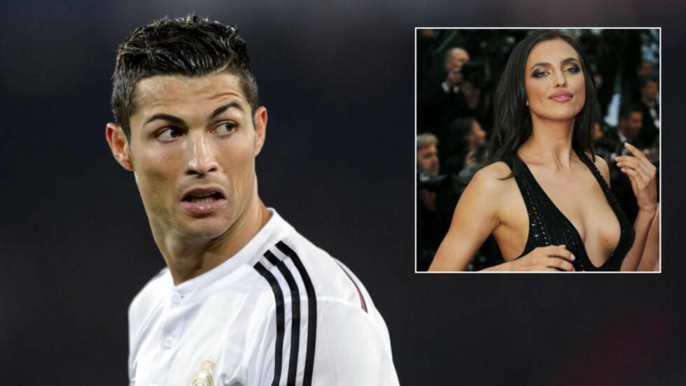 TYVEN TYVEN: Det er neppe noe det krangles om så busta fyker i hjemmet, men Cristiano Ronaldo hevder da at samboeren har en tendens til å stikke av med undertøyet hans. Foto: NTB Scanpix