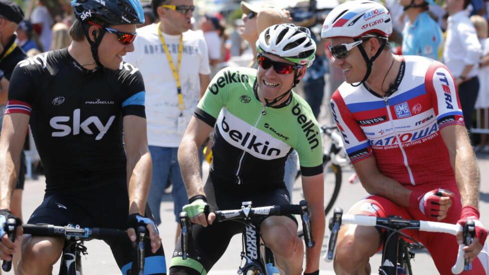 VM-KLAR: Boasson Hagen, Nordhaug og Kristoff blir Norges ryttere i VM. Foto: Cornelius Poppe / NTB scanpix