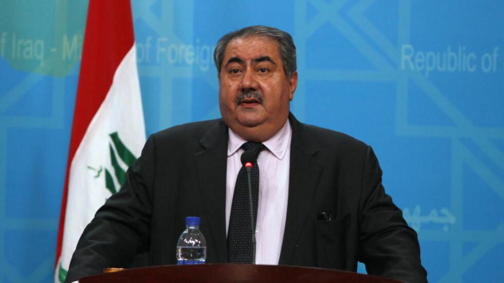 DRØFTER NY REGJERING: Iraks kurdiske utenriksminister Hoshyar Zebari skal møte kurdiske ledere for å diskutere kurdernes del i den nye regjeringen. Foto: Ahmed Saad, Scanpix/Reuters