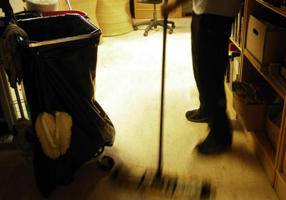 SVARTVASK: Å benytte svart vaskehjelp er langt i fra det verste man kan gjøre, viser en ny undersøkelse. Foto: Truls Brekke / Dagbladet