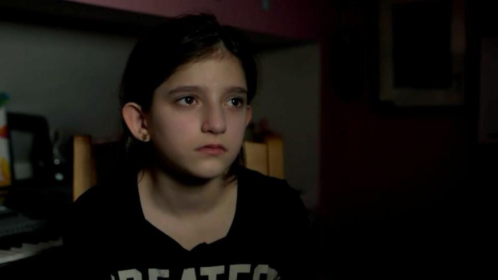 FÅR BLI: Yalda Bahadori (12) får likevel bli i Norge. Foto: Lars-Erik Eliassen/Høgskolen i Lillehammer