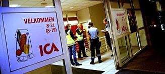 To ranere truet ICA-ansatte med pistol og kniv