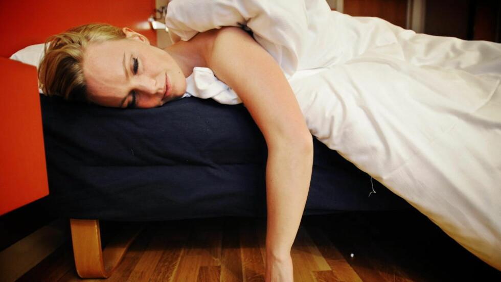 SØVNPROBLEMER:  Deltakerne med søvnproblemer hadde en raskere reduksjon av hjernens volum, og at denne reduksjonen var mest uttalt hos personer over 60 år.  Foto: Thomas Rasmus Skaug / Dagbladet