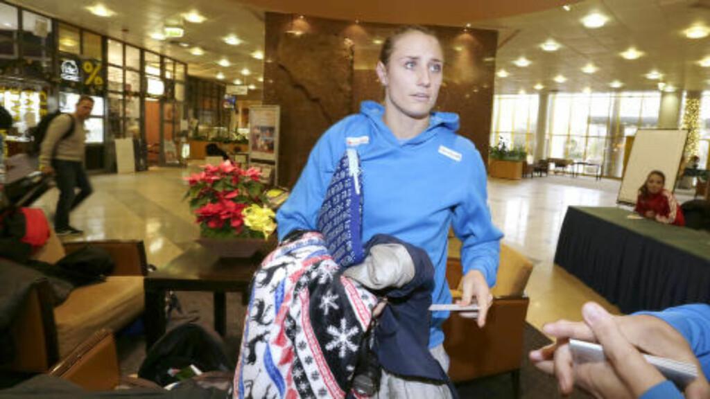 STO OVER SIST: Camilla Herrem følte seg bedre i går og håper å rekke semifinalen. Foto: Vidar Ruud / NTB scanpix