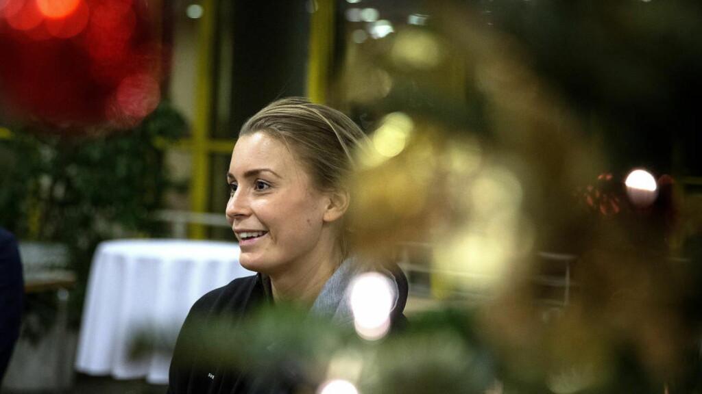 SVENSK PROFIL: Isabelle Gulldén snakker med Dagbladet før EM-semifinalen mot Norge. Hun legger ikke skjul på hvor lyst hun har på en finaleplass.