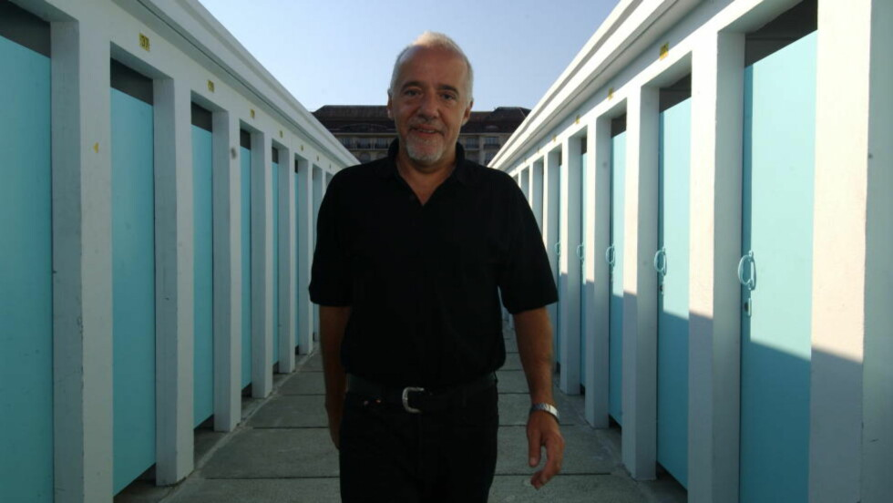 """VIL KJØPE THE INTERVIEW: Paolo Coelho vil redde filmen """"alle"""" snakker om.  Foto BRUN/AGNETE Dagbladet"""