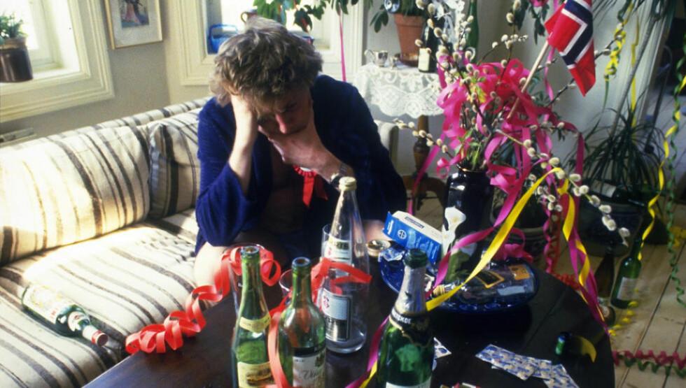 KJENNER DU DEG IGJEN? Det tar en del timer å komme seg etter en real fest eller når en øl «plutselig»ble til fem. Foto: Tom Martinsen / Dagbladet