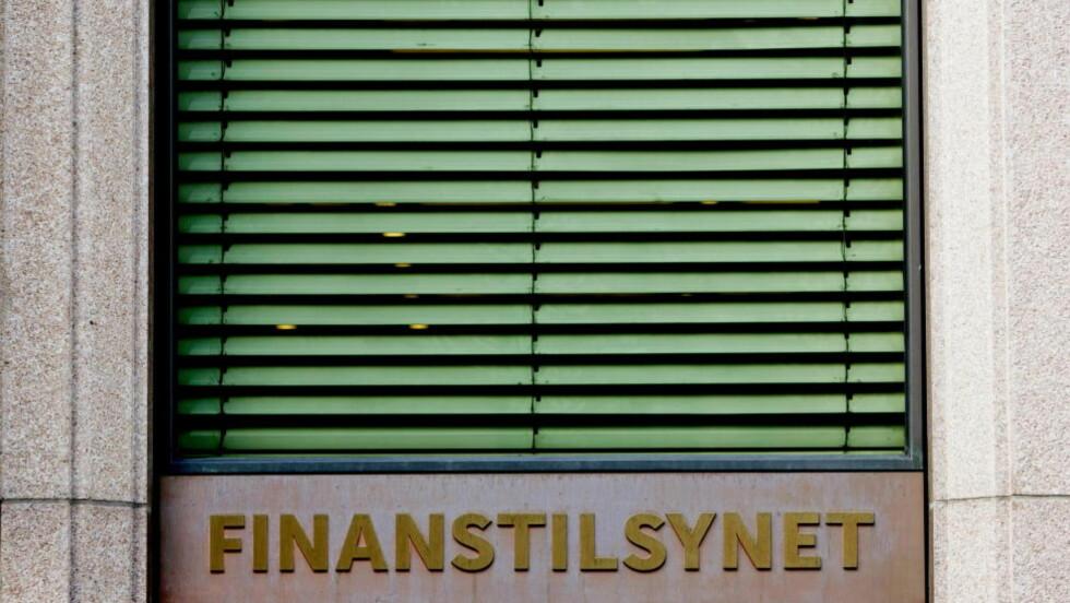HAR IKKE ANMELDT FOR HVITVASKING: Finanstilsynet. Foto: Stian Lysberg Solum / SCANPIX