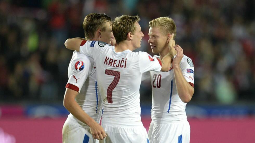 VANT: Tsjekkia vant sin EM-kvalifiseringskamp mot VM-bronsevinner Nederland. Foto: EPA/FILIP SINGER