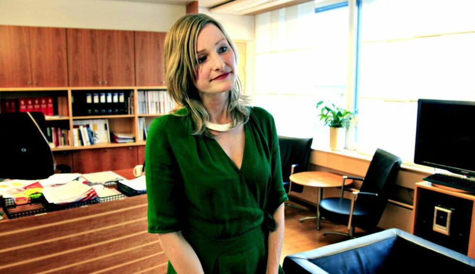 PÅ VEI UT?:  Ifølge Dagsavisen tar ikke Inga Marte Thorkildsen gjenvalg som nestleder i SV.  Foto: Jacques Hvistendahl