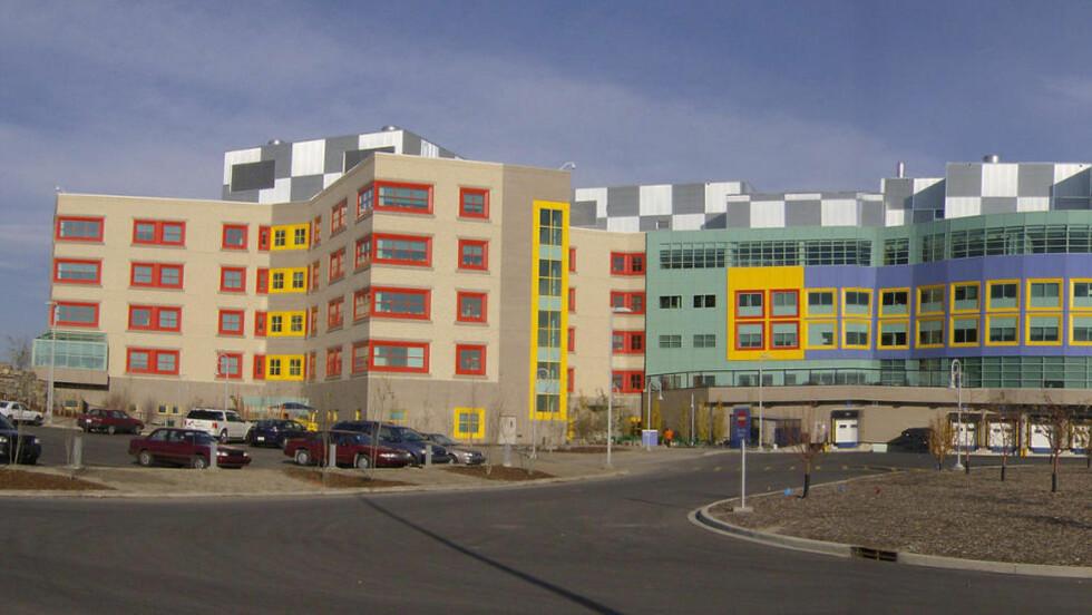 DØDE PÅ SYKEHUS:  Den lille gutten døde på sykehuset i Calgary. Foto: Wikimedia