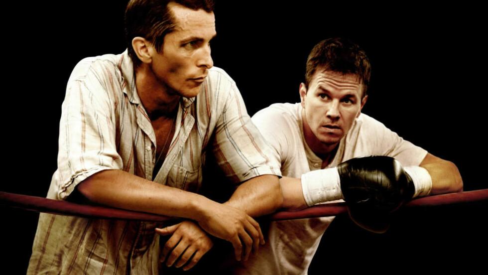 UKAS NYHETER: Den Oscar-vinnende filmen «The Fighter» med Christian Bale og Mark Wahlberg er blant ukas nyheter på Netflix. Foto: Nordisk Film