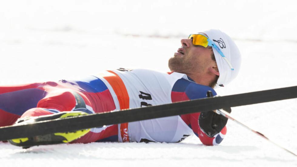 STÅR OVER:  Petter Northug er ikke pigg. Foto: NTB Scanpix