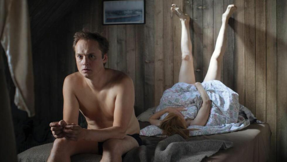 PREMIERE I GÅR: Bartek Kaminski spiller hovedrollen i NRKs nye dramaserie «Kampen for tilværelsen». Foto: NRK