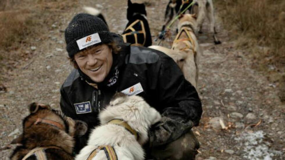 VOLDSOMT ENGASJEMENT:  Lars Monsens innlegg om sauebønders ansvar for å passe på dyrene sine, har skapt et voldsomt engasjement rundt hunder, båndtvang og beitedyr. FOTO: JØRN H. MOEN/DAGBLADET.