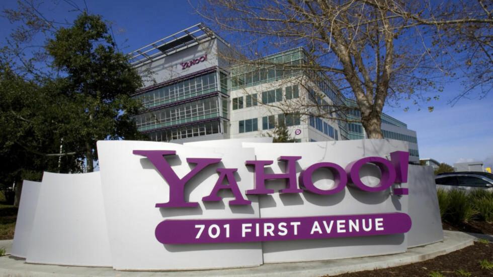TRUET MED BØTER:  De nylig frigitte dokumentene viser hvordan Yahoo kjempet for at NSA ikke skulle få tilgang til datatrafikken deres. FotoREUTERS/Kimberly White