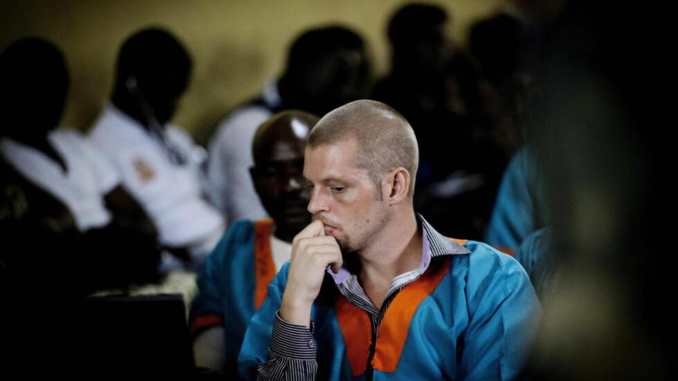 ALVORLIG SYK: Etter at han ble flyttet tilbake til Ndolo-fengselet er Joshua French raskt blitt mye dårligere. Foto: John T. Pedersen / Dagbladet