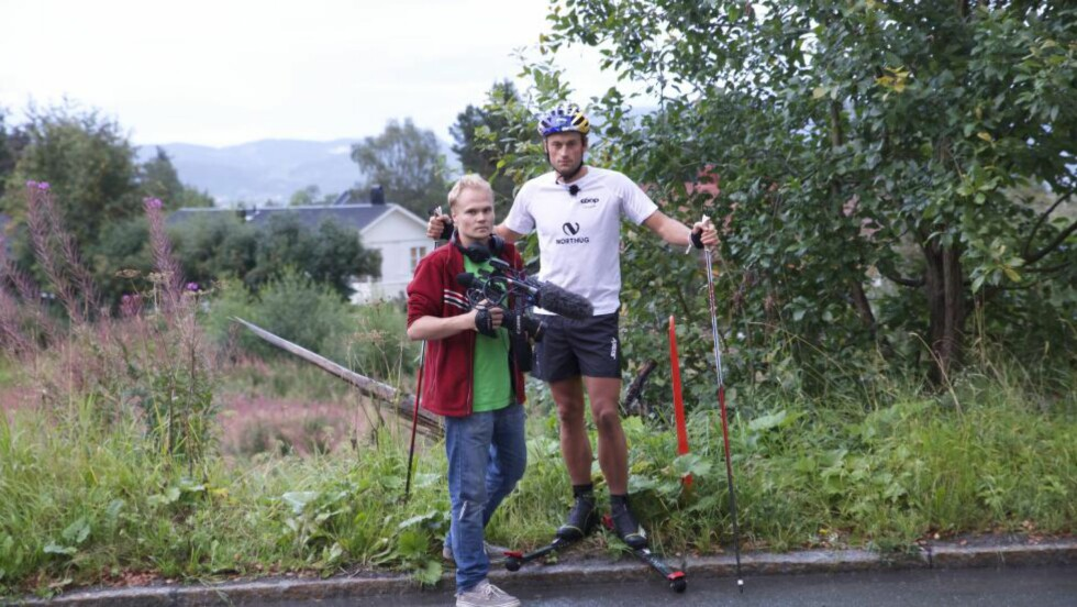 TILBAKE DER HAN KRASJET: Petter Northug er tilbake på stedet der alt kunne vært over når «Sirkus Northug» starter opp igjen på TV 2 i morgen kveld. Foto: TV 2