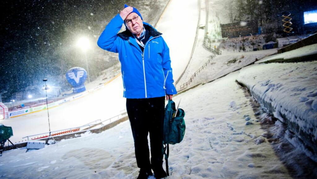 NRK-LEGENDE:   Arne Scheie. Bildet er tatt ved en tidligere anledning. FOTO: THOMAS RASMUS SKAUG