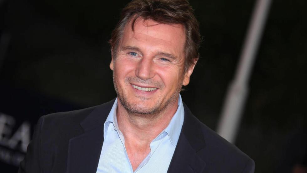 JO NESBØ-FAN: Liam Neeson er veldig fascinert av skandinavisk krimlitteratur, og skulle gjerne slått kloa i Harry Hole-rollen. Foto: NTB Scanpix