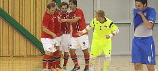 Futsallandslaget greide det fotballgutta ikke klarte