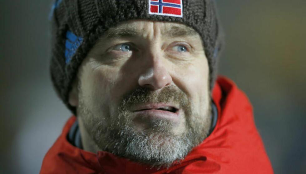 SPEIDER ETTER TOPPRESULTATER:  Sportssjef Clas Brede Bråthen. Foto: Terje Pedersen / NTB scanpix