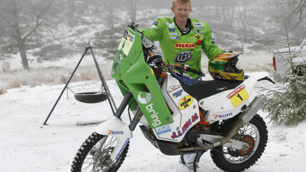 TO PÅ RAD:  Pål Anders Ullevålseter har vunnet de to første etappene i Africa Race. Foto: Terje Bendiksby / NTB scanpix
