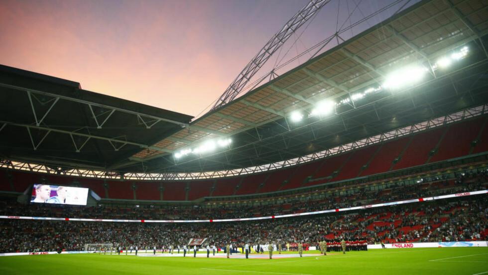 STORSTUE:  Wembley stadium i London. FOTO: NTB SCANPIX
