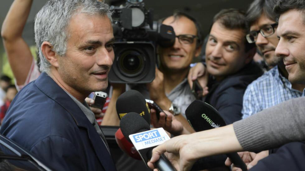 URETTFERDIG:  Jose Mourinho er ikke fornøyd med hvordan UEFA straffer klubbene som bryter FFP. Foto: AP / NTB Scanpix