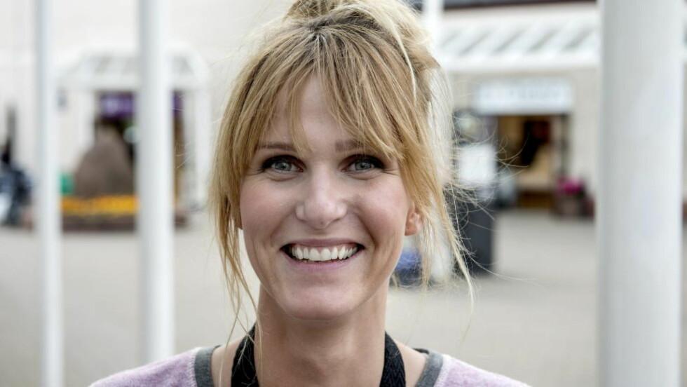 Gina Literland stemte ja og var glad. Foto: Øistein Norum Monsen / DAGBLADET
