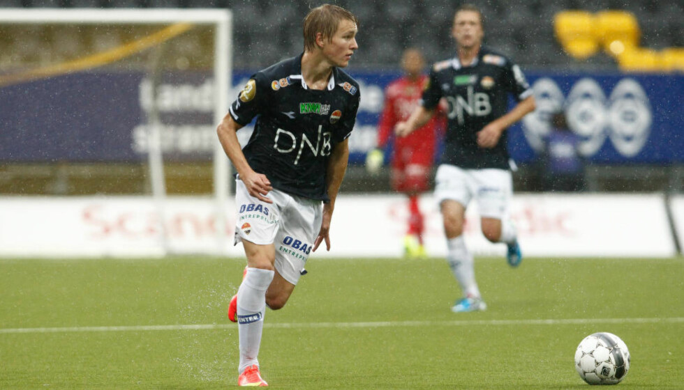 GOD DAG:  Martin Ødegaard serverte, som vanlig, lagkameratene med gode pasninger i dag. Foto: NTB Scanpix