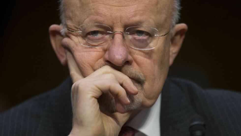 NY TRUSSEL:  USAs øverste etterretningssjef James R. Clapper bekreftet denne uka at USA ser med stor bekymring på Khorasan. Foto: AP Photo/Pablo Martinez Monsivais