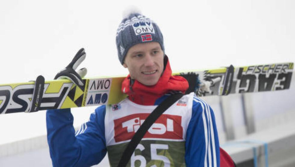 NUMMER FEM:  Rune Velta hopper bedre og bedre. Foto: Terje Bendiksby / NTB scanpix