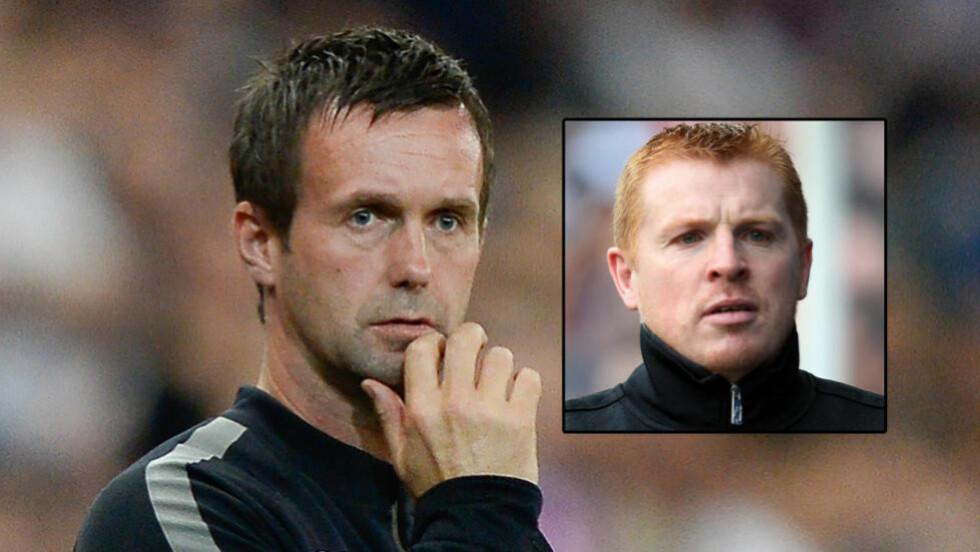 FÅR KRITIKK: Celtic-manager Ronny Deila får kritikk av eksmanager Neil Lennon. Foto: NTB Scanpix