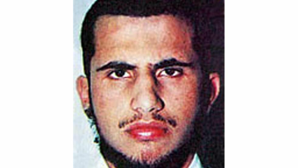 LEDER: Mushin al-Fadhli skal være leder av terrorgruppa Khorasan. Al-Fadhli har vært en sentral skikkelsen i al-Qaida over mange år, og skal ha vært en del av Osama bin Ladens innerste krets, og ha visst om angrepene 11. september på forhånd. Foto: Department of State / Rewardsforjustice.net