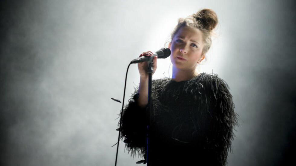 ALBUMKLAR: Emilie Nicolas fylte Rockefeller under årets Bylarm. Nå kommer debutplata. Foto: Øistein Norum Monsen / DAGBLADET