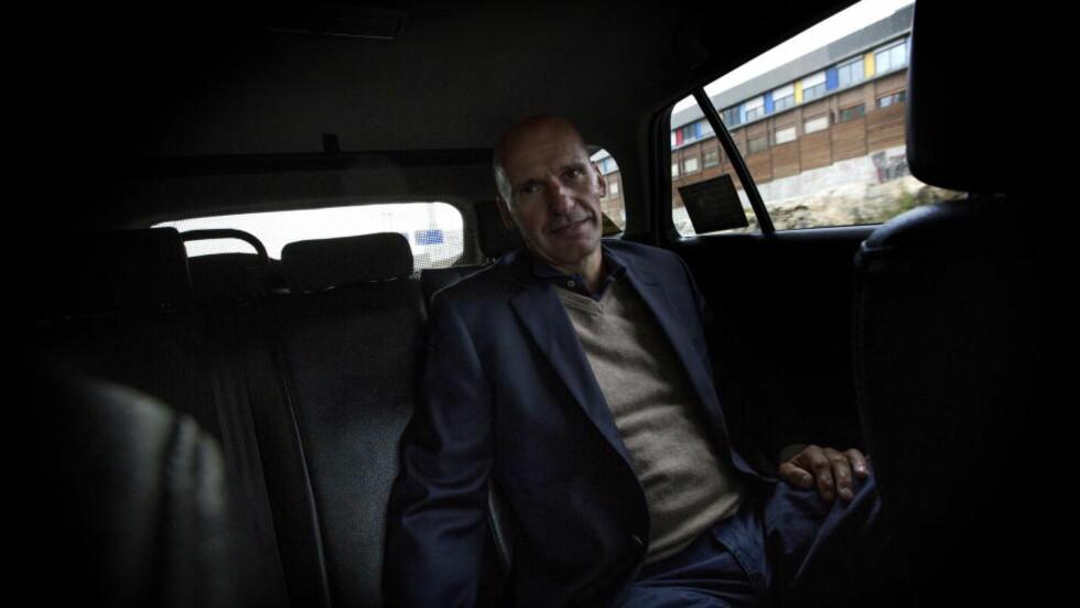 SKAL SAMTALE: Geir Lippestad skal møte Desmond og Mpho Tutu til samtale i Oslo Konserthus dag. Foto: Anita Arntzen / Dagbladet